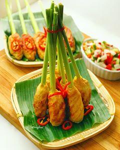 Sate Lilit Ikan Khas Bali