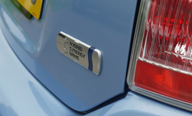 Toyota Prius Plug-in boot badge