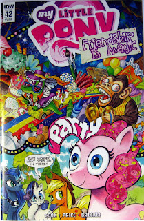 My Little Pony comic #42, main cover by Andy Price