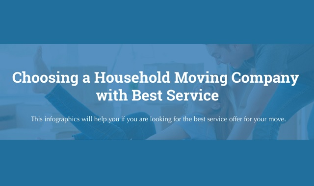 Choosing a Household Moving Company with Best Service #infographic