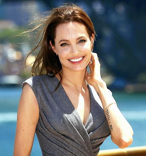 Smile Angelina Jolie
