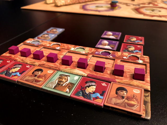 Passing Through Petra by Renegade Game Studios--Image by Benjamin Kocher at Everything Board Games, Board Game Review
