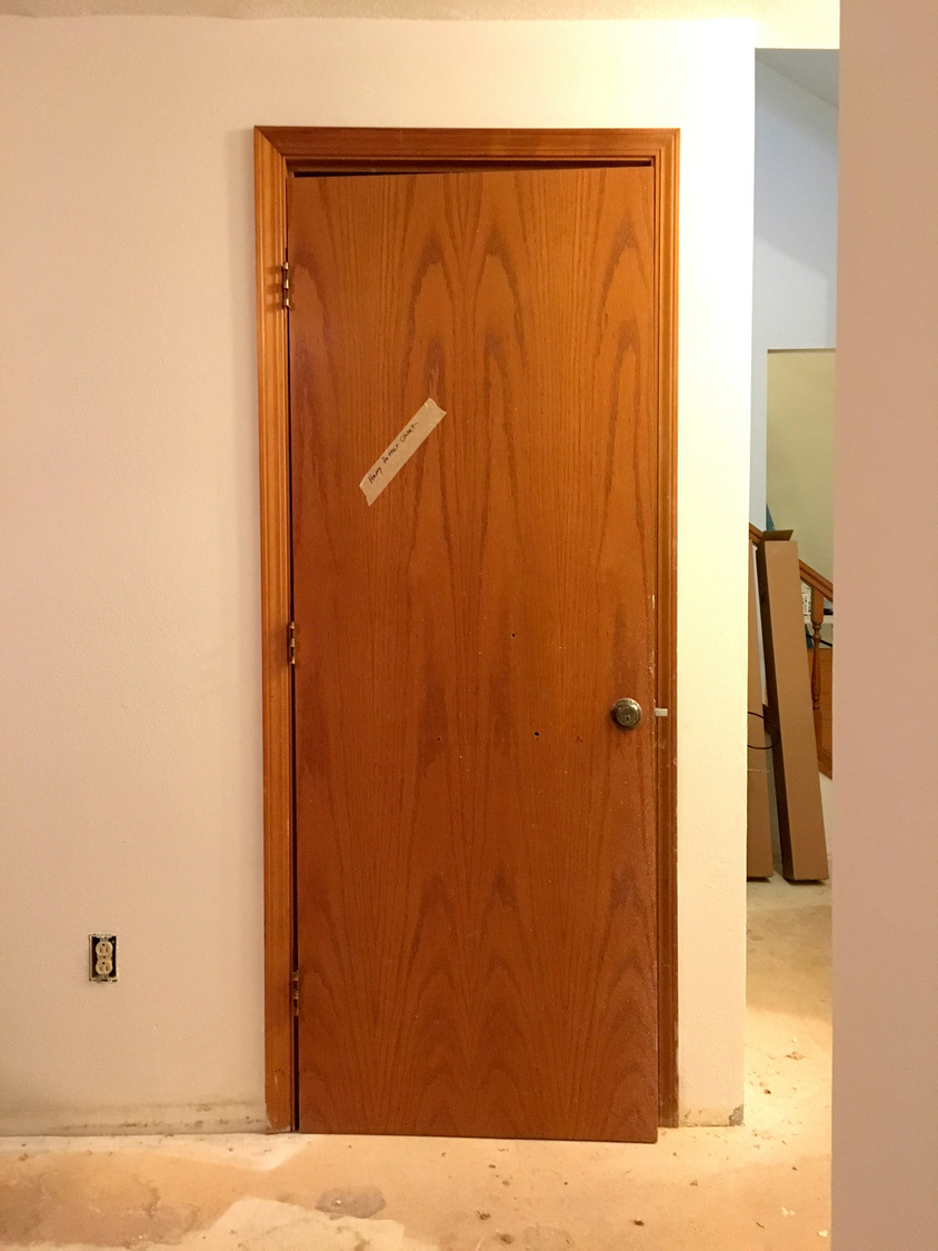 Transforming Dated Doors With Paint And Hardware Step By