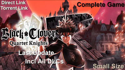 How to Download and Install Black Clover Quartet Knights Full Pc Game
