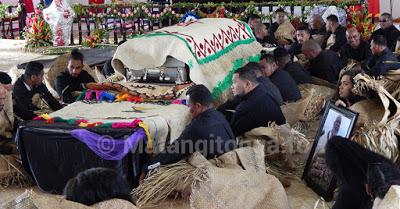 Королевская семья Тонга приняла участие в похоронах аристократа