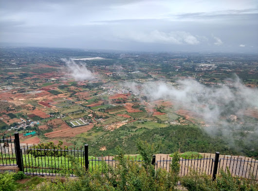 Monsoon trip to Nandi Hills         |          SHANDE