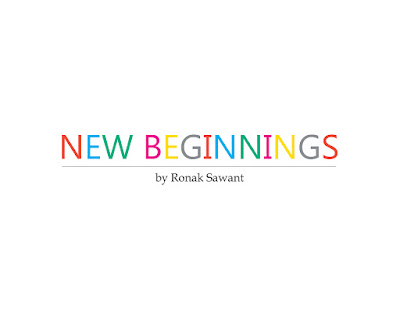 Cover Photo: New Beginnings - Ronak Sawant