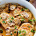 Creamy Chicken Marsala #Recipe