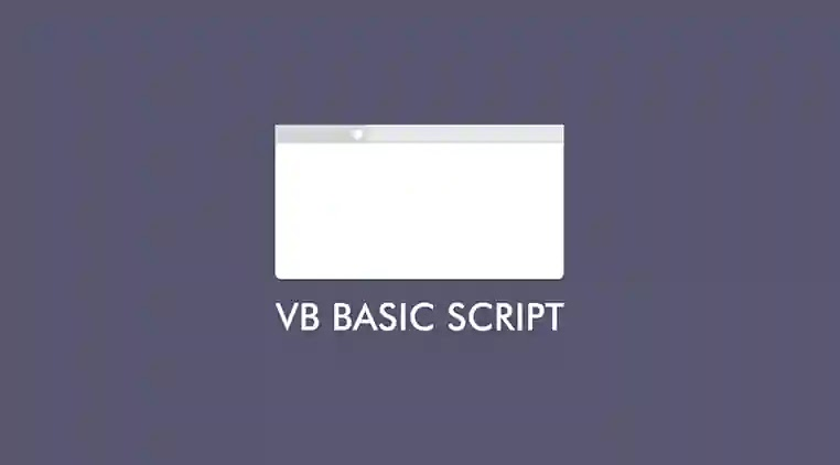 Script perintah sederhana visual basic