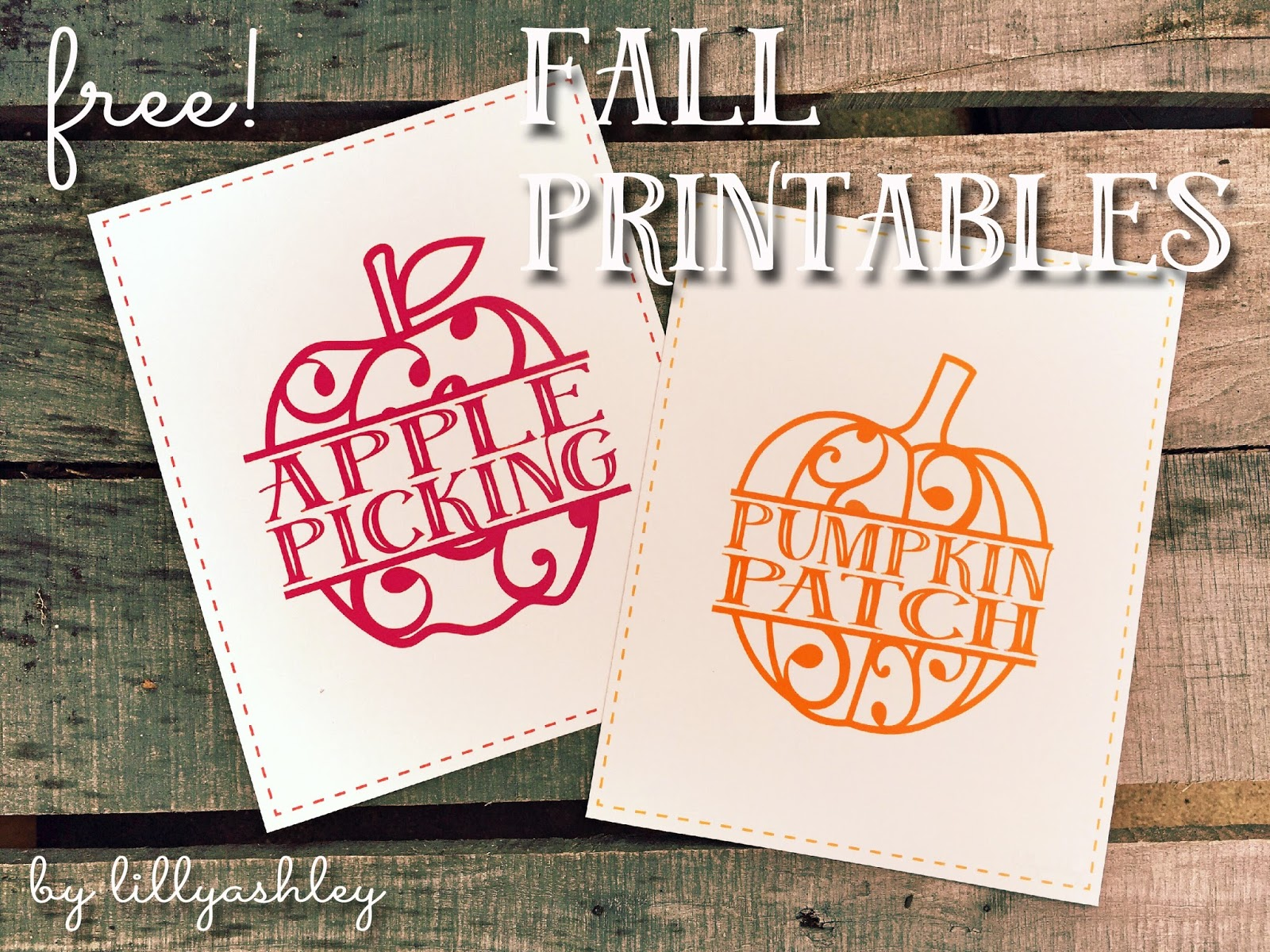 Make It Create By Lillyashley Eebie Downloads Free Fall Printables Applepicking Pumpkinpatch