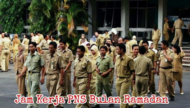 Jam Kerja PNS bulan Ramadan 1440 H