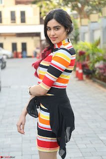 Adha Sharma in a Cute Colorful Jumpsuit Styled By Manasi Aggarwal Promoting movie Commando 2 (36).JPG
