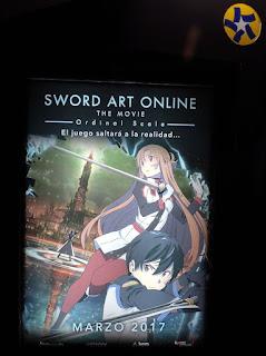 Sword art online poster México