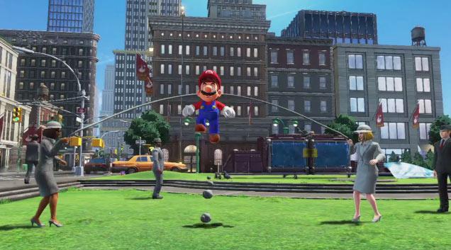 Super Mario Oddssey