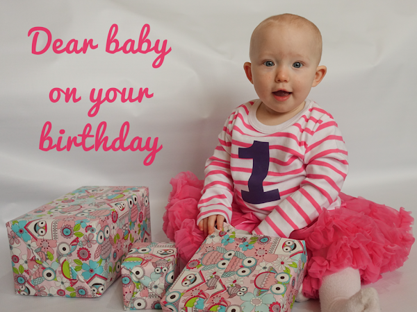 Letter To My Baby On Her First Birthday