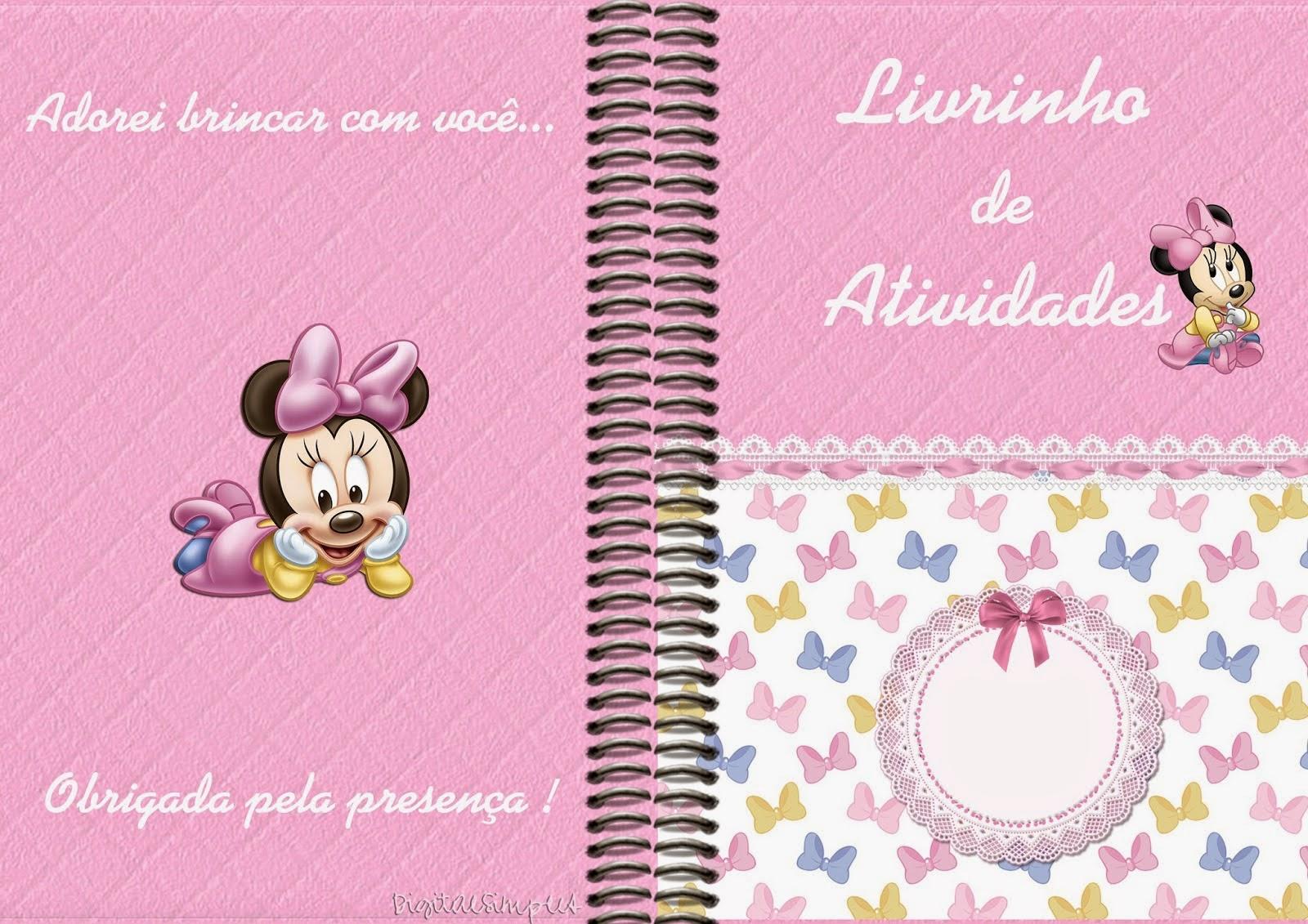 Minnie Bebé: Imágenes, Papeles e Imprimibles Gratis para Fiestas ...