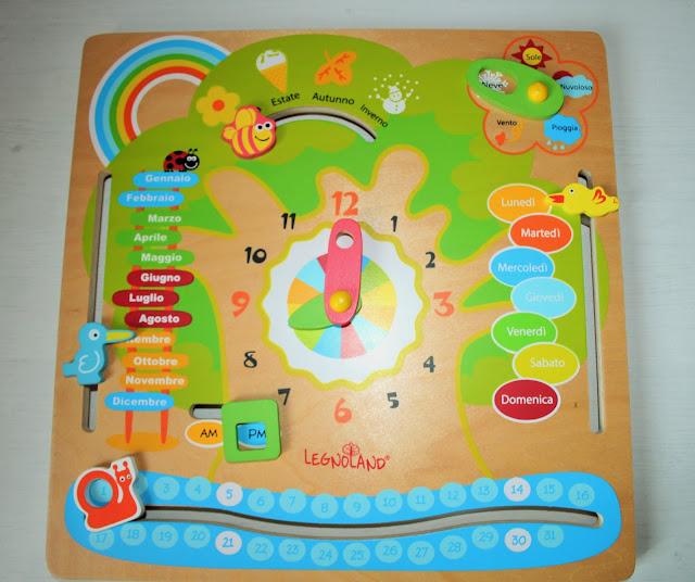calendario didattico, bambini, legnoland