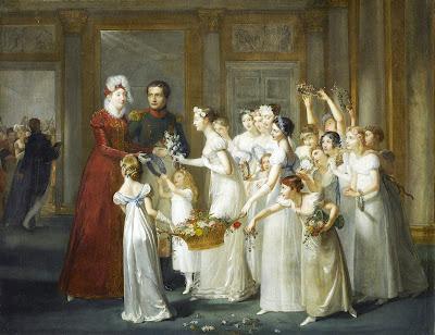 Arrivée de l'Archiduchesse Marie-Louise à Compiègne, Pauline Auzou