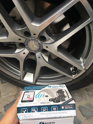Cảm biến áp suất lốp Mercedes GLC