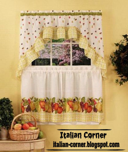 Small Curtains Models For Kitchens