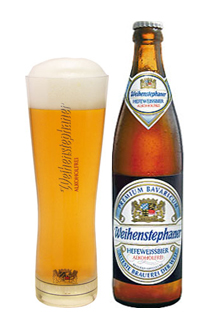 Weihenstephaner Hefeweissbier Alkoholfrei, una buena Weissbier sin alcohol.