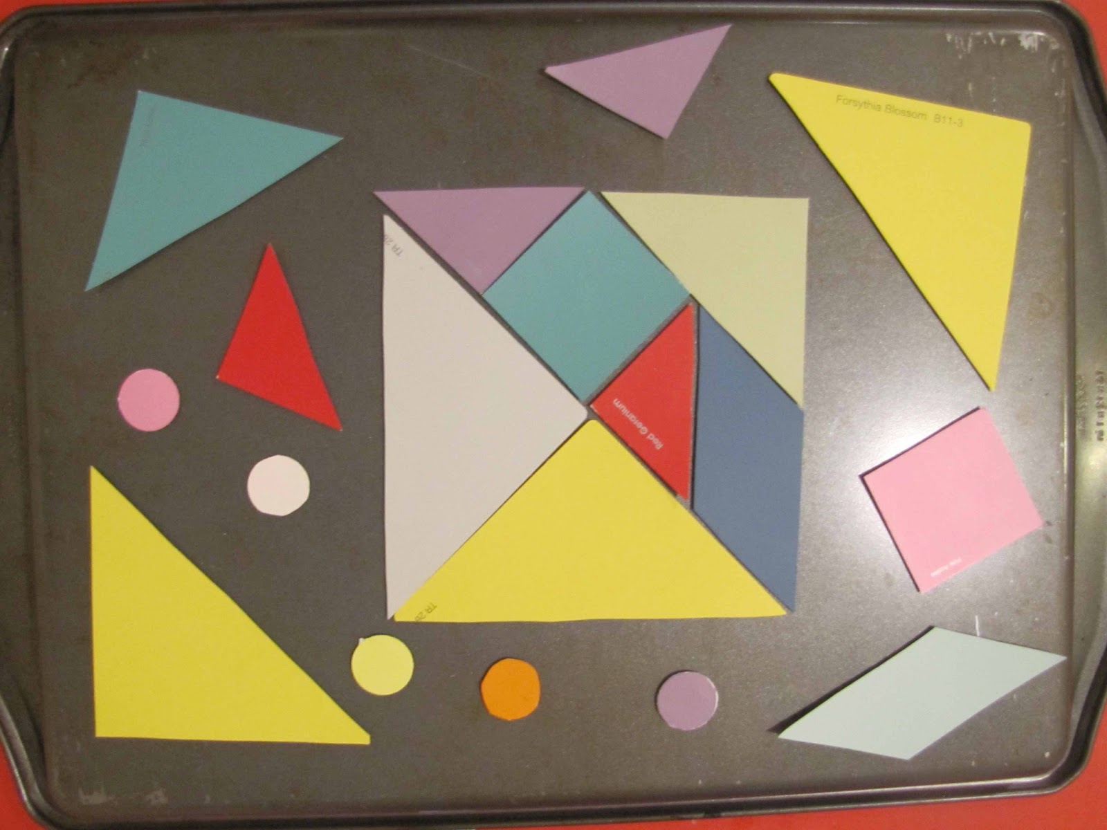 Make Your Own Magnetic Tangrams