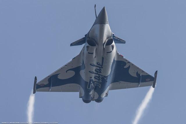FRENCH RAFALE AIRSHOW CALENDAR 2017