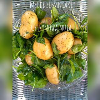 Młode ziemniaki z cytrynową nutą
