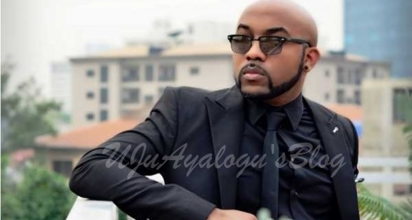 BREAKING: Fire guts Banky W' s Lekki home