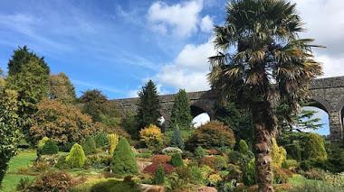 Jardines de Kilver Court en Somerset
