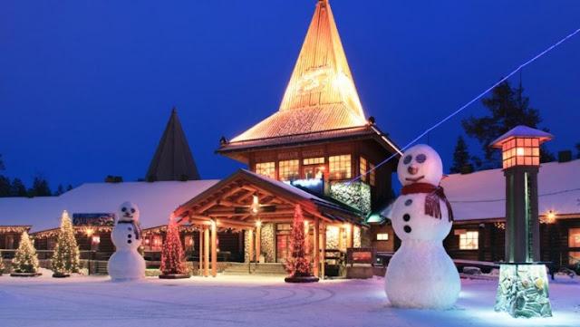Santa Claus House, Lapland, Finlandia