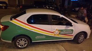 Presidente da Câmara de Algodão de Jandaíra comemora compra de Carro 0km