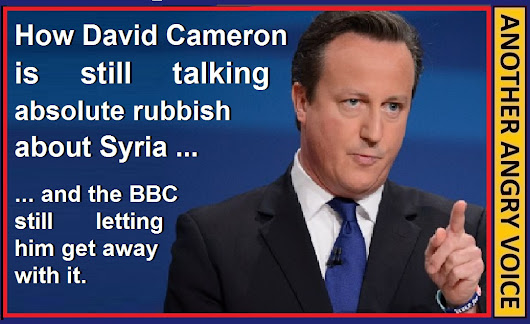 David Cameron talking rubbish Syria