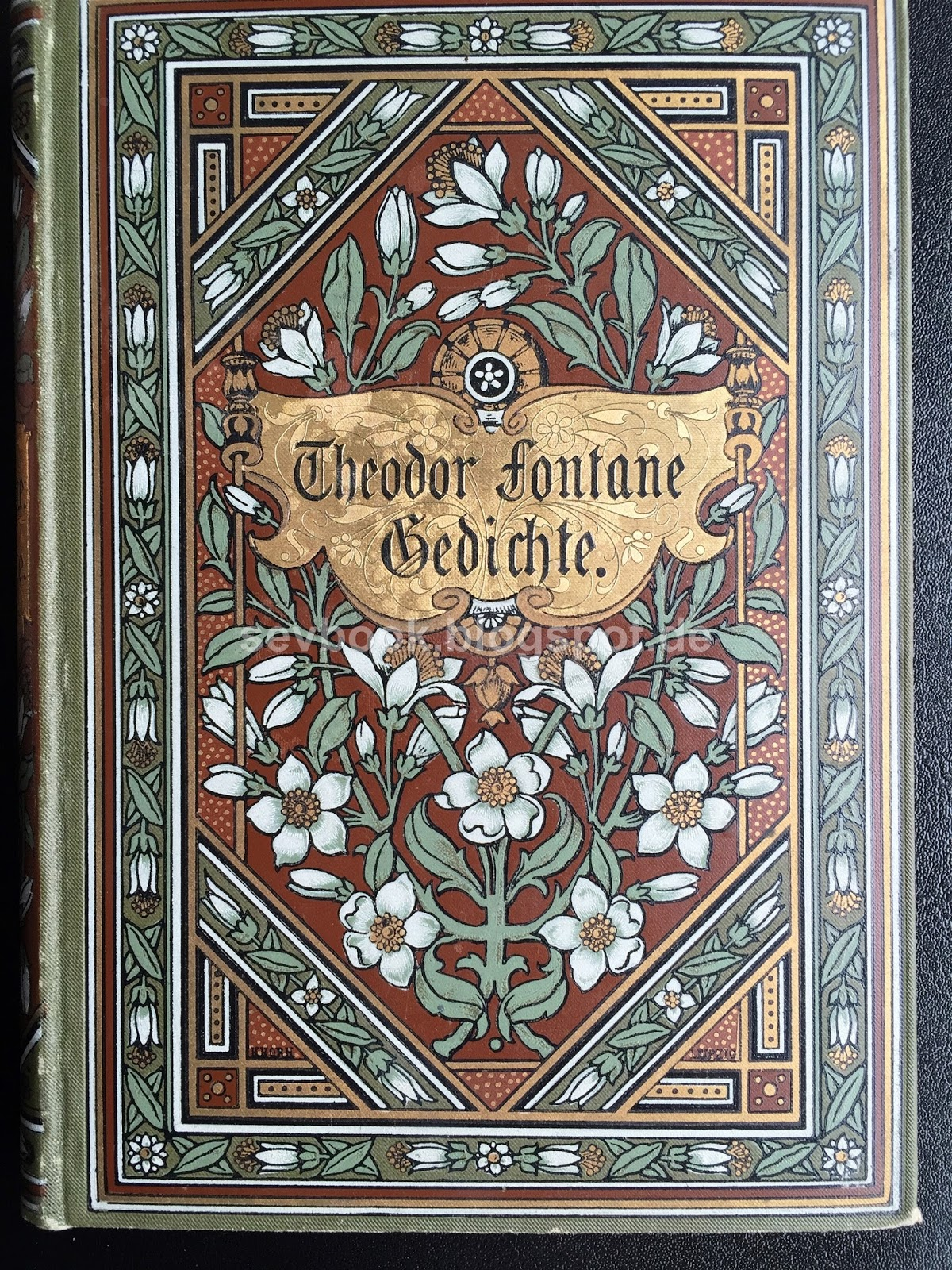 Books Which Deserve A Second Chance 1889 Gedichte Fontane