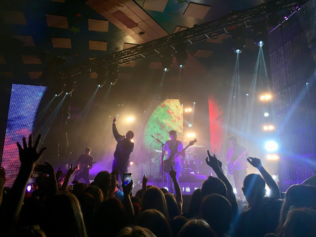 You Me At Six performing at the Glasgow Barrowlands - Take Off Your Colours tour
