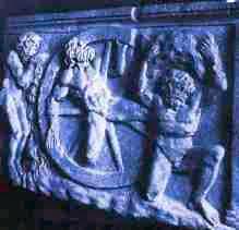 Αποτέλεσμα εικόνας για (Το μαρτύριο του Ιξίονα, από τον οποίο κατάγονταν οι Κένταυροι)