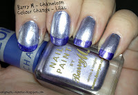 Barry M Chameleon Colour Change Polish Lilac
