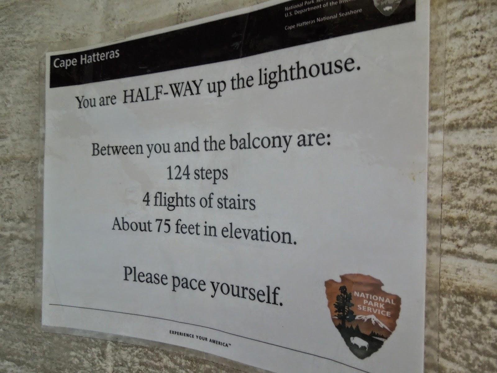 half way up