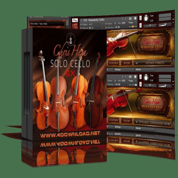 Chris Hein - Solo Cello KONTAKT Library
