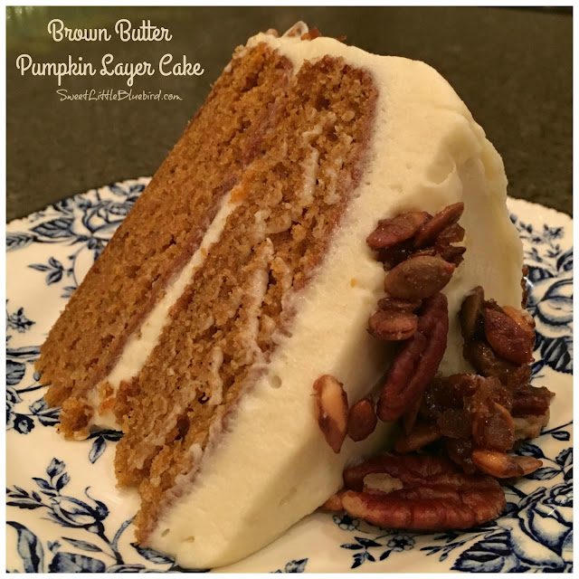Sweet Little Bluebird: Brown Butter Pumpkin Layer Cake ...