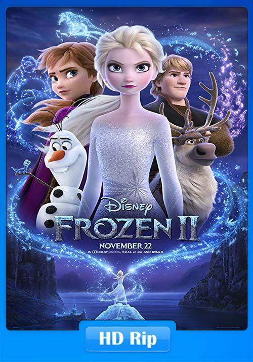 Frozen II 2019 720p WEBRip x264 | 480p 300MB | 100MB HEVC