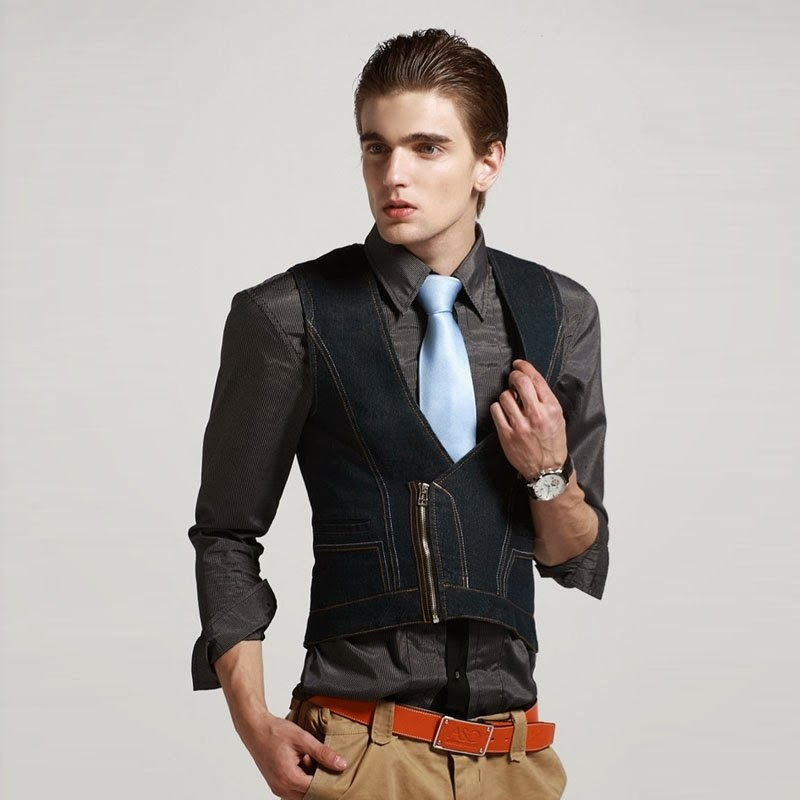 Beauty And Fashion Popular Mens Denim Vest Aliexpress