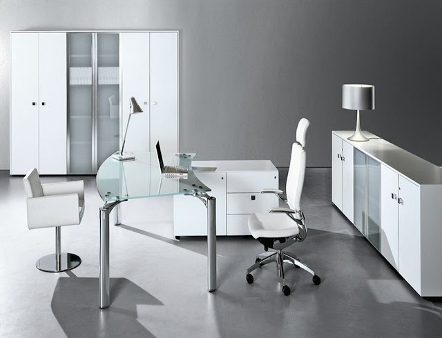 best buy modern white office furniture sets for sale online