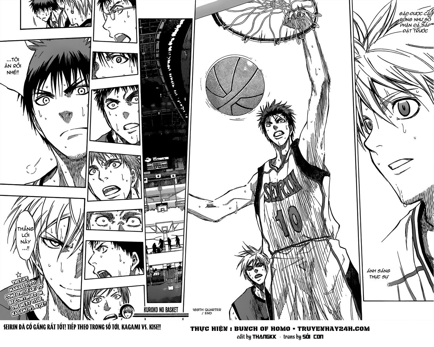 Kuroko No Basket chap 189 trang 18
