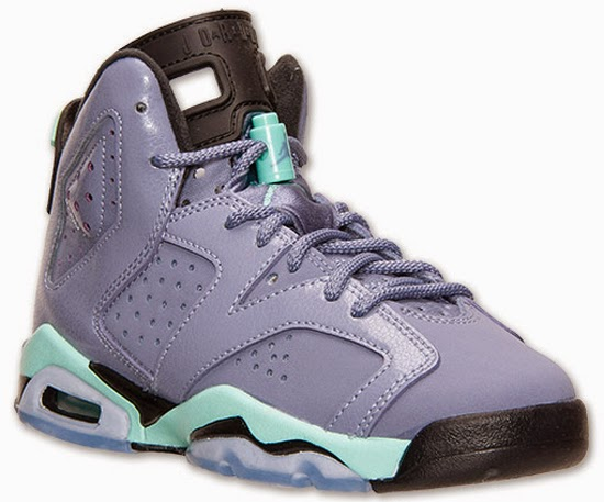 86ccaa6395b2 Girl s Air Jordan 6 Retro GS Iron Purple Bleached Turquoise-Black Release  Reminder