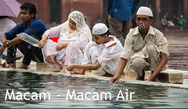 4 Macam Air Untuk Bersuci Dalam Islam dan Jenis, Contoh Serta Pembagiannya