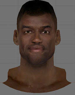 NBA 2K13 David Robinson Cyberface Patch