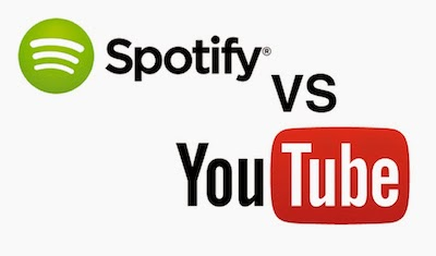 Spotify vs YouTube image
