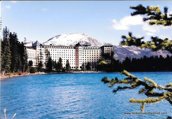 The Fairmont Chateau Lake Louise in Banff National Park, Canada