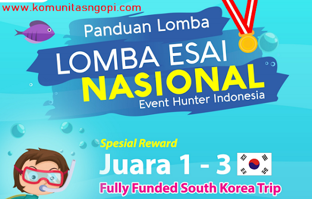 Lomba Esai Nasional Event Hunter Indonesia